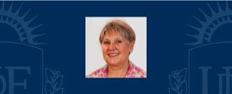 Profª. Evelia Derrico, Secretaria Académica UDE