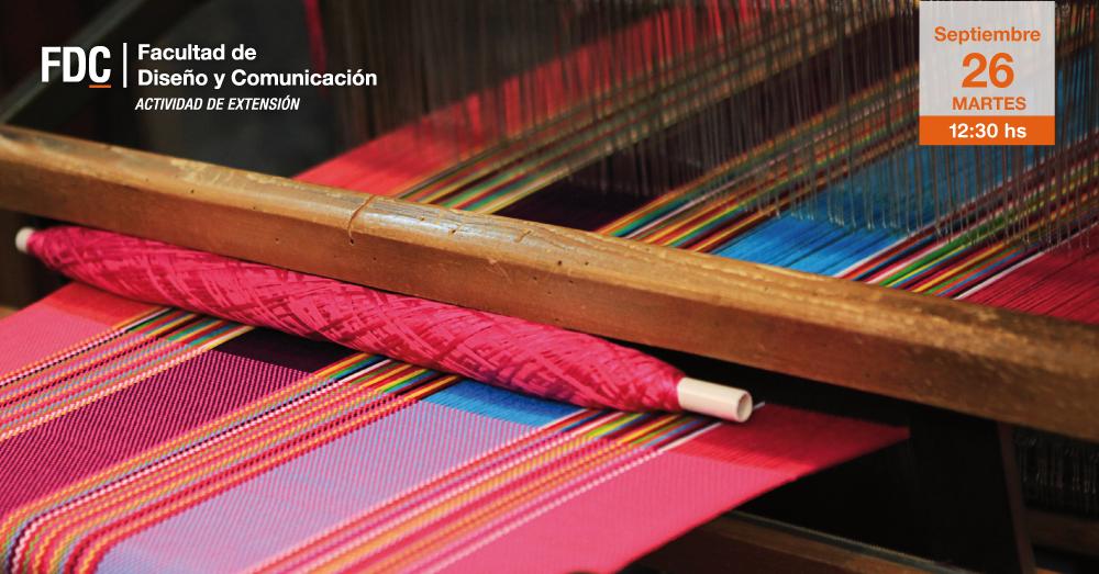 """Presentación del libro """"Textiles y Moda: ¿Qué es ser sustentable?"""""""